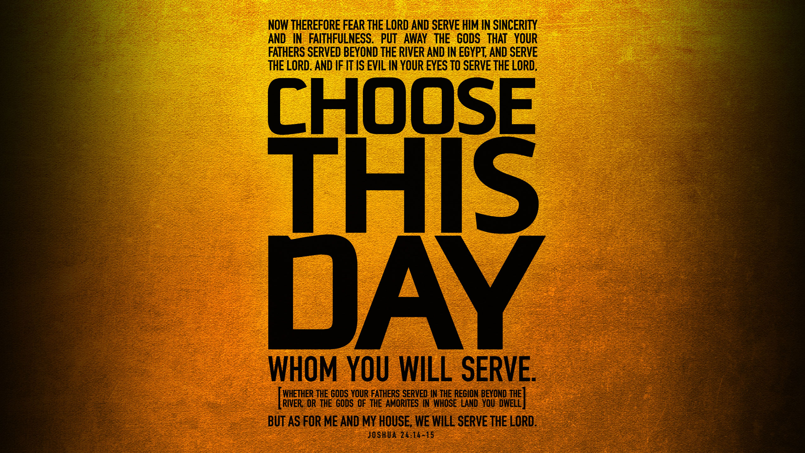 Choose This Day Wallpaper 1 Wawasee Bible
