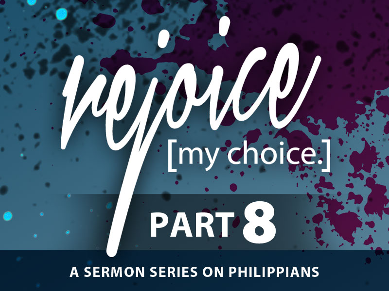 Part 8: The Ultimate Safeguard: Choosing to Rejoice