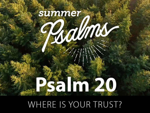 Psalm 20: Where is Your Trust?