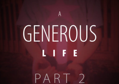 Part 2: The Start of Generosity