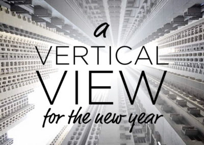 A Vertical View for the New Year