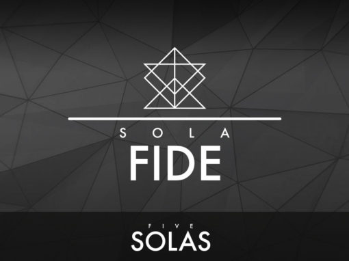 Sola Fide (Faith Alone)