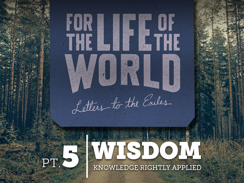 Part 5: Wisdom – Knowledge Rightly Applied